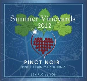 Sumner Vineyard 2012 Pinot Noir