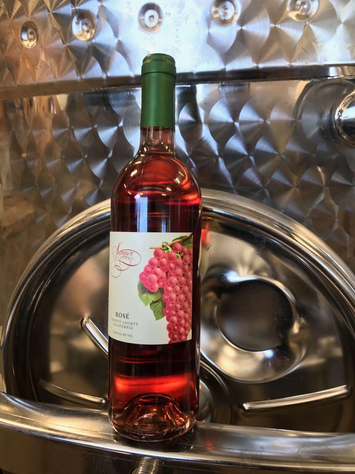 Just bottled Rose